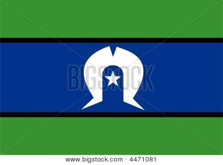 Flag Of Torres Strait Islander