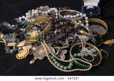 Stack Of Jewels