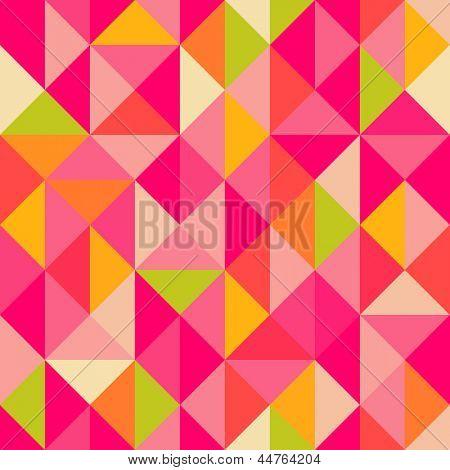 Triangles geometrical seamless pattern