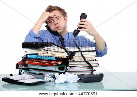 Overworked civil servant