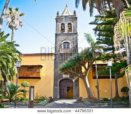 Instituto de Canarias in San Cristobal de la Laguna, Tenerife, Canary Islands. Spain.