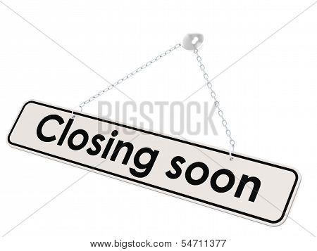 Closing soon banne