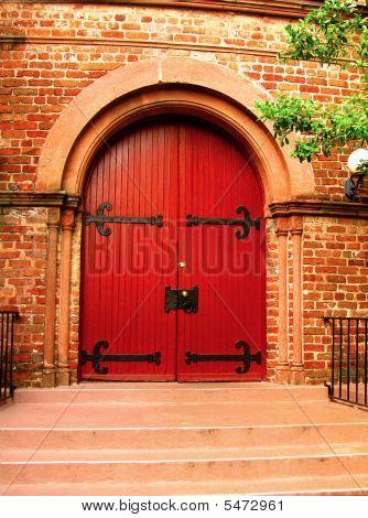 Medieval Church Door