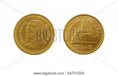 Two Thai Baht Coin
