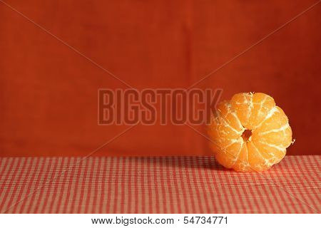 Still Life With Mandarin.