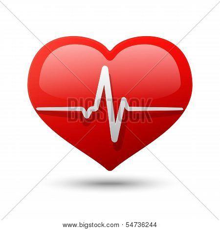 Heart Icon. Vector