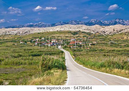 Village Gorica, Island Of Pag