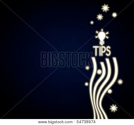 A Tip Design With Stars