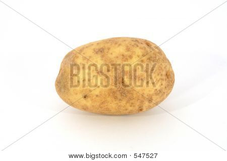Single Potato Horizontal