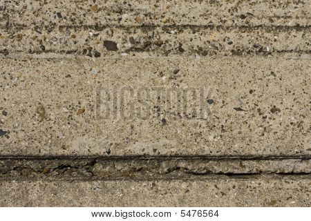 Grooved concrete wall texture for use as a background poster