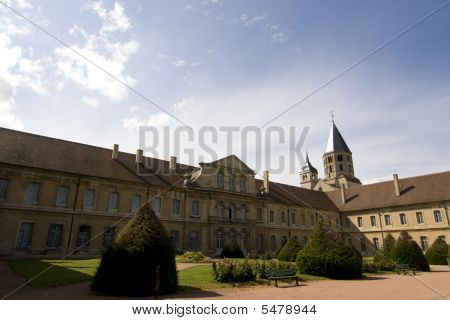 Abbey Of Cluny In France