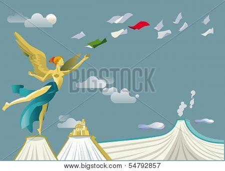 Independence Angel