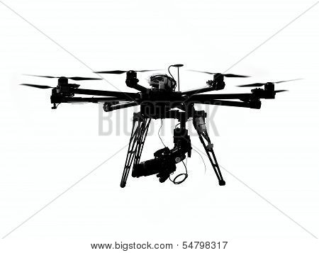 Unmanned Aerial Vehicle With Camera
