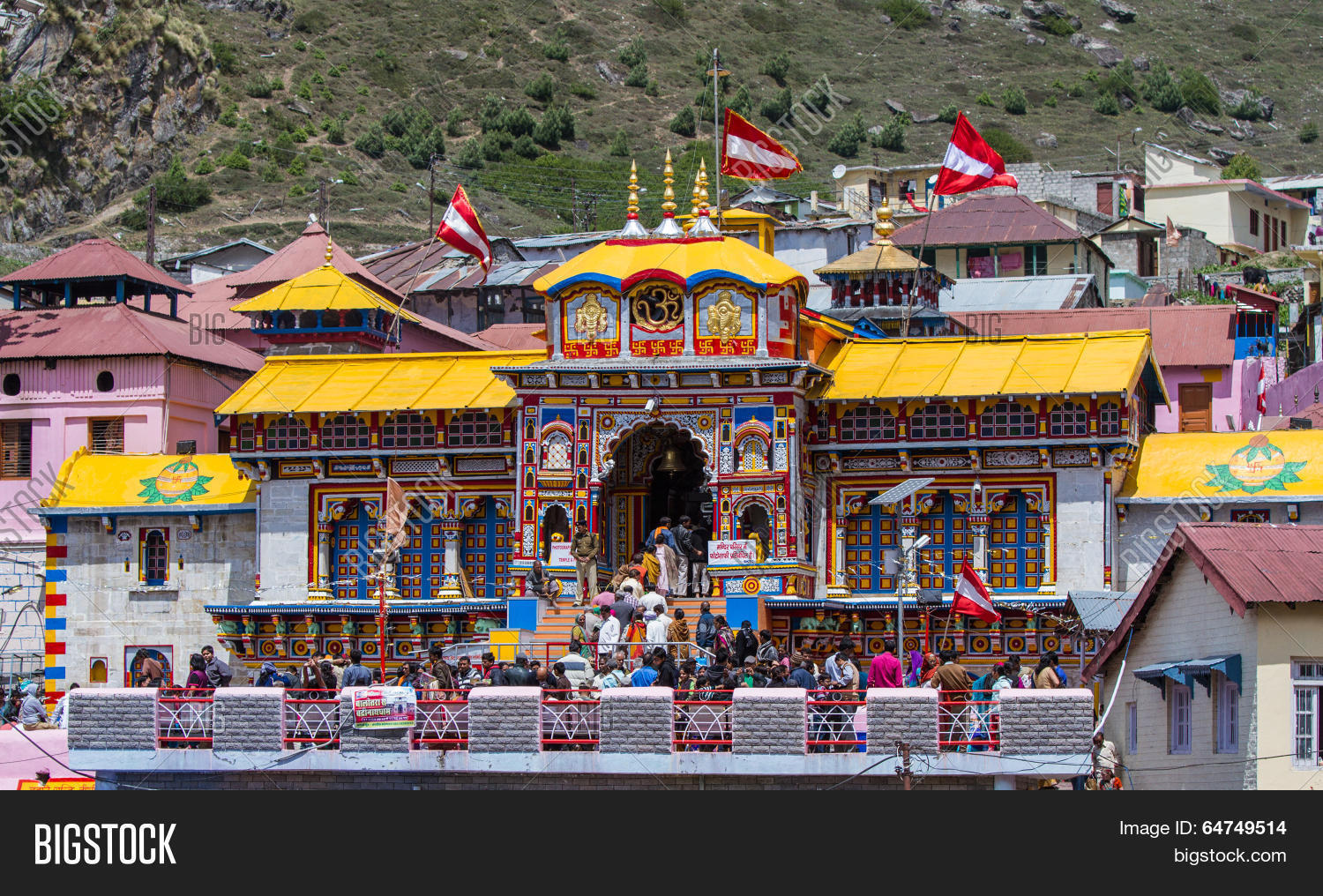 Image result for free image of badrinath