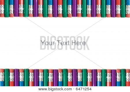Pencil Eraser Border