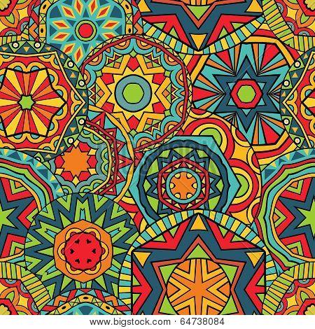 Fancy Rounds Ethnic Pattern