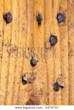 nailed wood