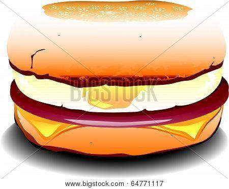 English sausage egg