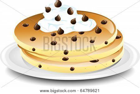 Pancake Chocolate chip