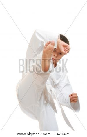 Kick After Defending Stance
