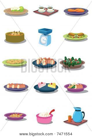 Food In Vector