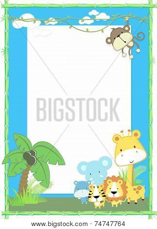 baby animal jungle