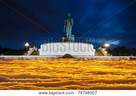 light waving rite of Thailand, Asalha Puja