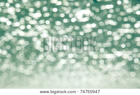 Abstract color green bokeh background desige .