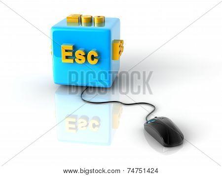 Computer Key Esc