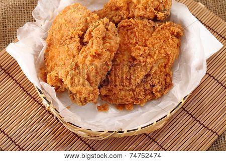 Fried Chicken Breast.