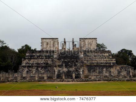 The Temple, Where Human Sacrifices In Chichen- Itza