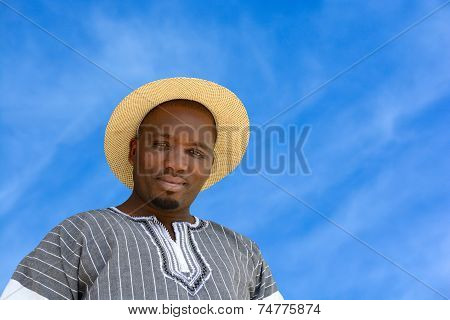 African black man portrait