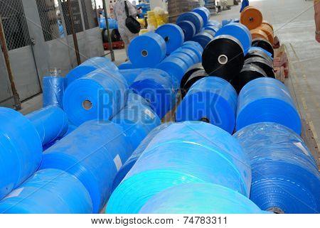 Polyethylene In Wharehouse