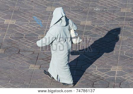 Berber Woman In Marrakesh
