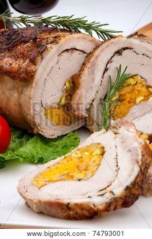 Staffed Pork Loin Roulade