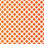 Rhombus pattern background. Abstract wallpaper with rhombus cell. Orange background. Vector poster