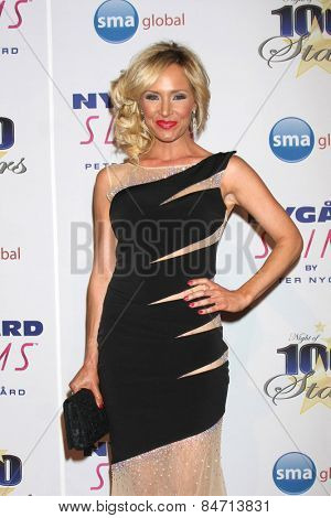 LOS ANGELES - FEB 22:  Camille Grammer at the Night of 100 Stars Oscar Viewing Party at the Beverly Hilton Hotel on February 22, 2015 in Beverly Hills, CA