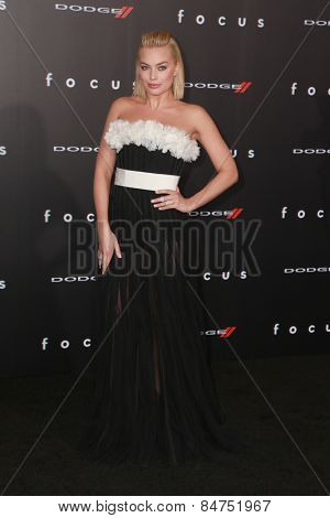 LOS ANGELES - FEB 24:  Margot Robbie at the