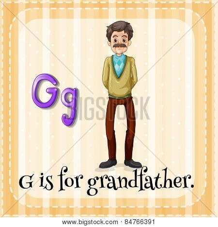 G is for grandfather