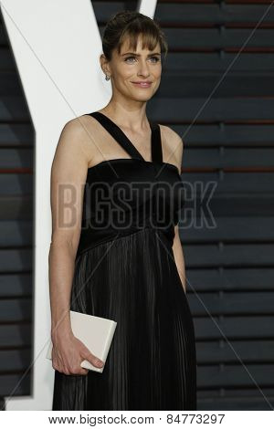 LOS ANGELES - FEB 22:  Amanda Peet at the Vanity Fair Oscar Party 2015 at the Wallis Annenberg Center for the Performing Arts on February 22, 2015 in Beverly Hills, CA