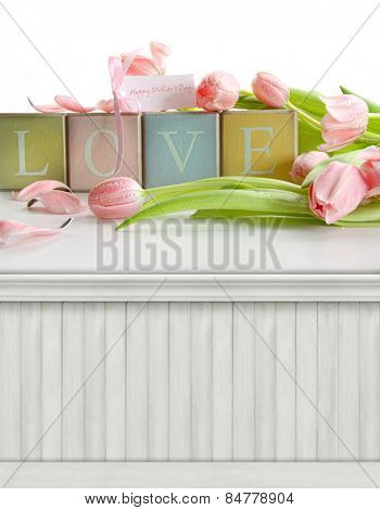 Spring, Mother's day background/backdrop