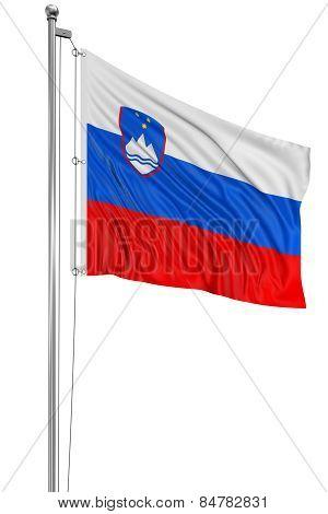 3D Slovene flag