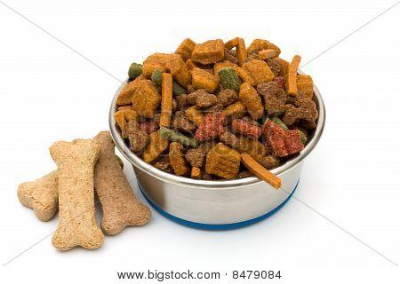 A Bowl Of Dog Food