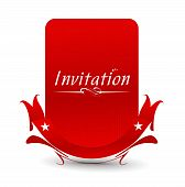 Vector design for party invitation card, Just place your own texts and titles. poster