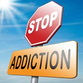 stop addiction prevention and rehabilitation of alcohol drug pain killer and other addicts poster