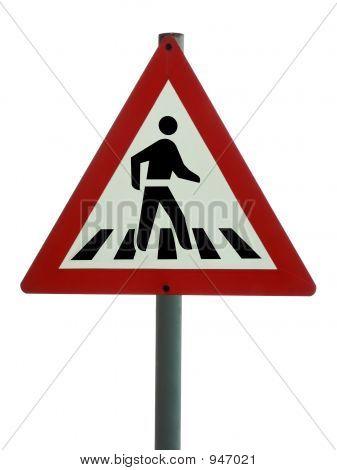 Road Sign - Pedestrian Crossing
