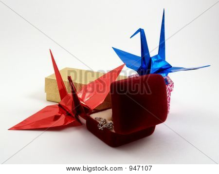 Origami With Gift Box