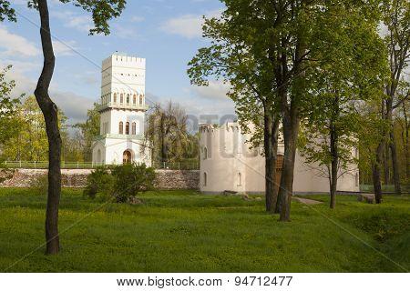 White Tower in Pushkin
