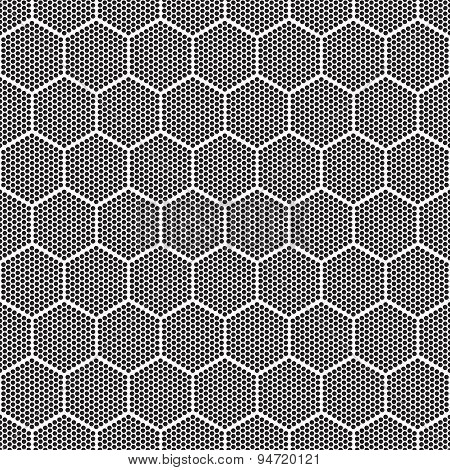 Seamless Monochrome Pattern Imitation Sot