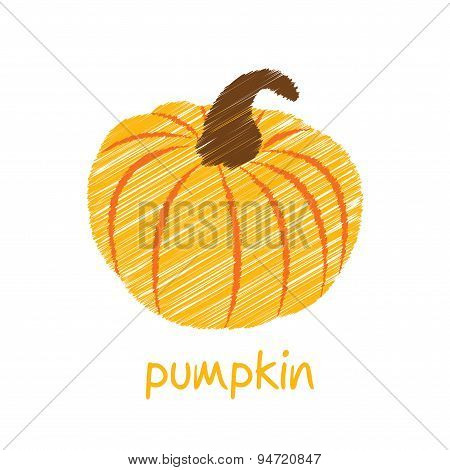 pumpkin sketch design